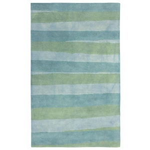 TransOcean Piazza 7281/04 Stripes Sea Breeze Rug